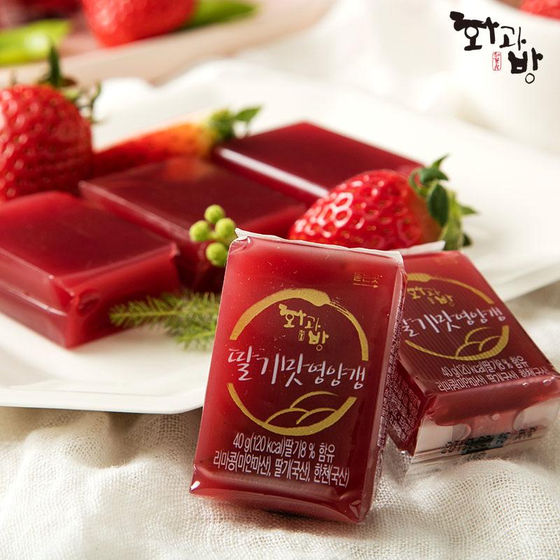 딸기맛 영양갱(40g*12개입) 제품사진